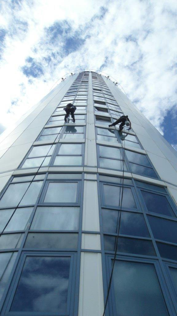 Based in Hampshire, Taskforce UK Ltd offer a specialist commercial window cleaning service with a team qualified to work at height. Click to find out more.